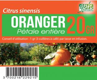 Oranger Pétales