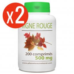 Vigne rouge 400 comprimés à 500 mg
