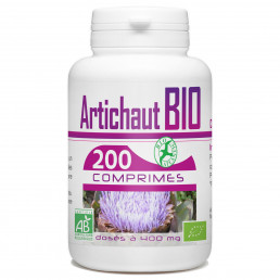 200 Comprimes Artichaut Bio 400 mg