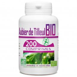 200 Comprimes Aubier de Tilleul Bio 400 mg
