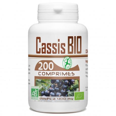 200 Comprimes Cassis Bio 400 mg