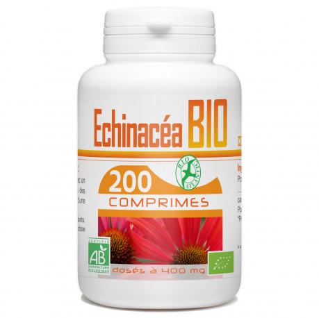 200 Comprimes Echinacéa Bio 400 mg
