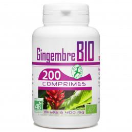 200 Comprimes Gingembre Bio 400 mg