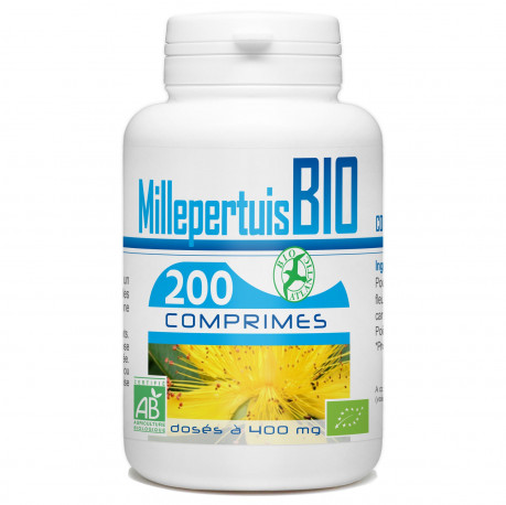 200 Comprimes Millepertuis Bio 400 mg