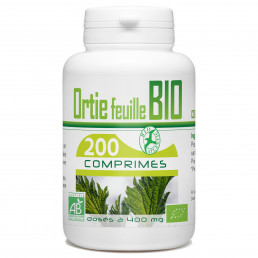 Ortie feuille Bio 400 mg - 200 Comprimés