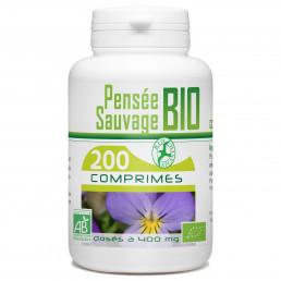 200 Comprimes Pensée Sauvage Bio 400 mg