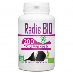 200 Comprimes Radis Noir Bio 400 mg
