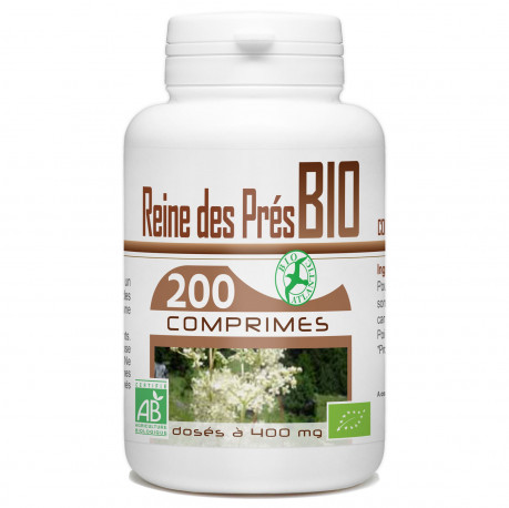 200 Comprimes Reine des Prés Bio 400 mg