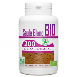 200 Comprimes Saule Blanc Bio 400 mg