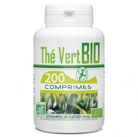 200 Comprimes Thé Vert Bio 400 mg