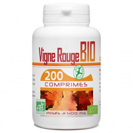 200 Comprimes Vigne Rouge Bio 400 mg