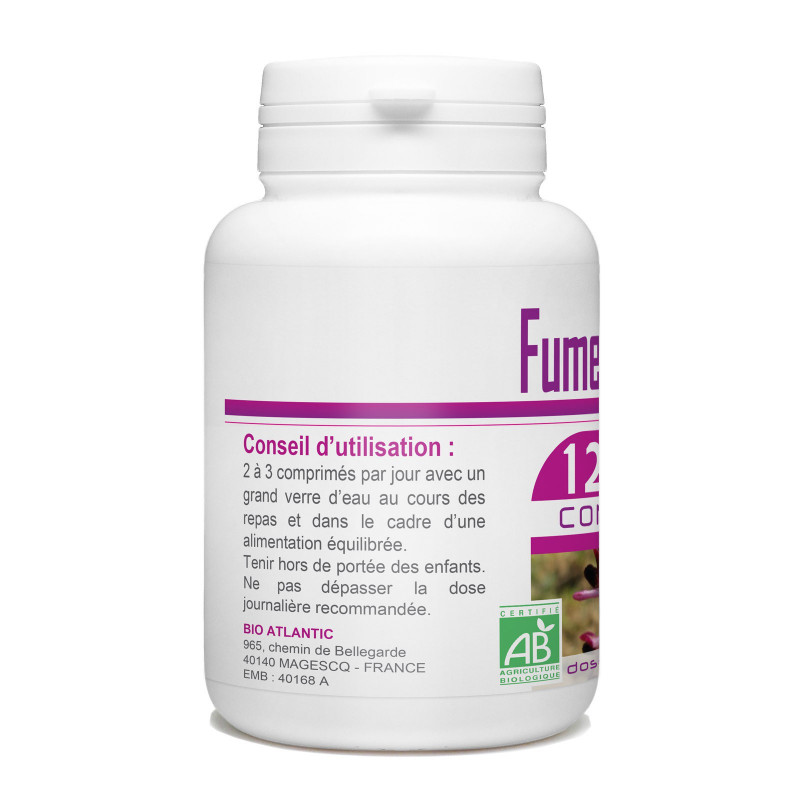 Fumeterre bio 400 mg 120 comprim s - Combien de graines de nigelle par jour ...
