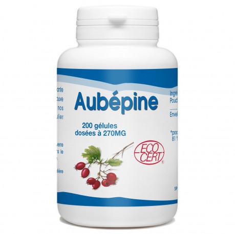 Aubépine Bio - 200 gelules classiques