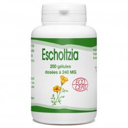 Escholtzia Bio - 240 mg - 200 gélules