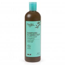 Shampoing au savon d'Alep Bio - 500ml - Cheveux Gras