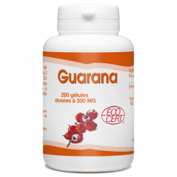 Guarana Bio 300mg - 200 gélules
