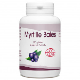 Myrtille Baies Bio - 250 mg - 200 gélules