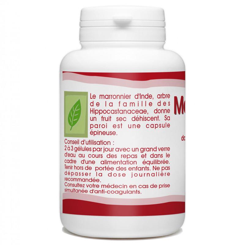 Marron d'Inde Bio - 250 mg - 200 gélules