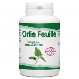 Ortie Bio (Feuille) - 200 gélules - 210mg