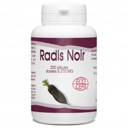 Radis Noir Bio - 200 gelules classiques