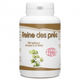 Reine des Prés Bio - 215 mg - 200 gélules