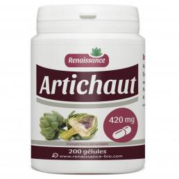 ARTICHAUT 200 gélules dosées à 420 mg