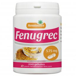 FENUGREC 200 gélules dosées à 575 mg