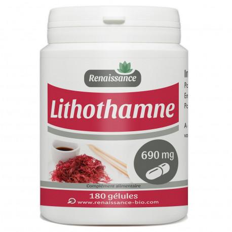 Lithothamne - 180 gélules dosées à 690 mg