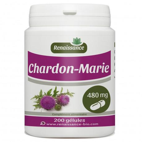 CHARDON MARIE 200 gélules dosées à 480 mg