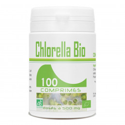 Chlorella Ecocert - 500mg - 100 comprimés