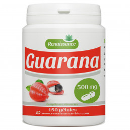 GUARANA 500mg - 150 gélules