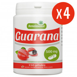 Guarana 600 gélules - 500 mg