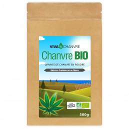 Graines de Chanvre Bio en Poudre - 500g