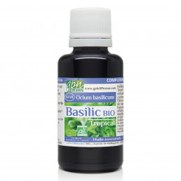 Huile essentielle de Basilic Tropical Bio 30ml