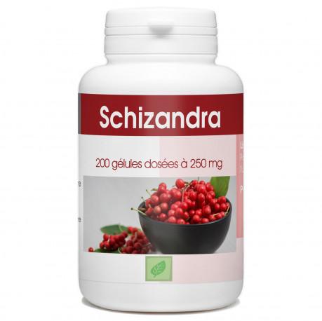 Schizandra 250mg - 200 gélules