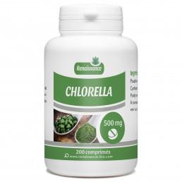 Chlorella dosés à 500 mg par comprime