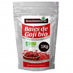 Baies de Goji Bio - 1 kg - Calibre 600