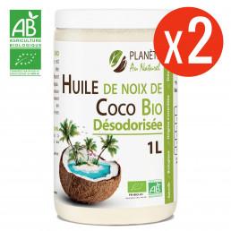 Huile de Coco Désodorisée Bio - 2L