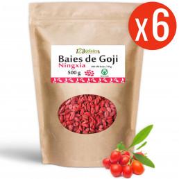 Goji (Ningxia) GreenFood - 6 X 9,90 € sachets 500 gr