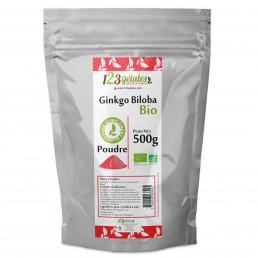 Poudre de Ginkgo Biloba Bio - 500gr