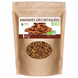 Sachet d'Amandes Décortiquées Bio 1kg