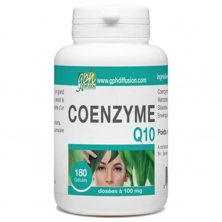 CoEnzyme Q10 - 100 mg - 180 Gélules Végétales