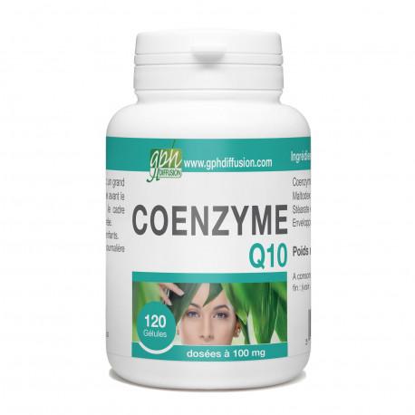 CoEnzyme Q10 - 100 mg - 120 gélules végétales