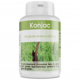 Konjac 625 mg - 200 gélules