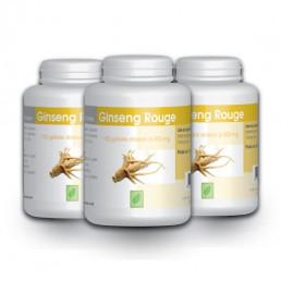 Ginseng Rouge - 300 mg - 100 gélules x 3