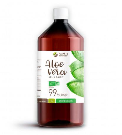 Aloe Vera Bio - Gel à Boire - 1 litre