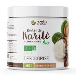 Beurre de Karité Bio - Alimentaire - Désodorisé
