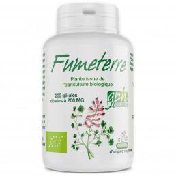 Fumeterre Bio - 200mg - 200 gélules végétales