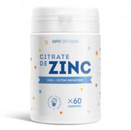 Citrate de zinc - 60 comprimés