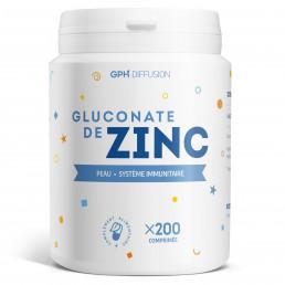 Gluconate de zinc - 200 comprimés